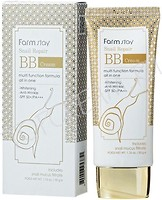 Фото FarmStay Snail Repair BB Cream SPF50+ Pa+++