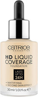 Фото Catrice HD Liquid Coverage Foundation 002 Porcelain Beige