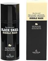 Фото The Skin House Black Snail Bubble Mask кислородная маска 100 мл