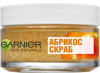 Фото Garnier скраб Абрикос для всех типов кожи лица Skin Naturals 50 мл