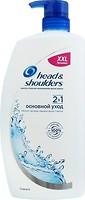 Фото Head & Shoulders 2 in 1 Classic Clean Основной уход против перхоти 900 мл