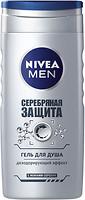 Фото Nivea Men Silver Protect гель для душа Серебряная защита 250 мл