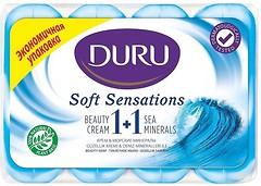 Фото Duru туалетное мыло 1+1 Soft Sensations Крем и Морские минералы 4x 90 г