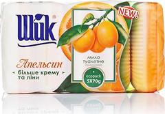 Фото Шик туалетное крем-мыло Апельсин 5x 70 г