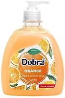 Фото Dobra жидкое крем-мыло Апельсин 500 мл