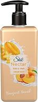 Фото Шик жидкое крем-мыло Nectar Персик и карамболь п/б с дозатором 450 мл