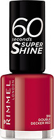 Фото Rimmel 60 Seconds Super Shine №310 Double Decker Red
