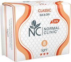 Фото Normal Clinic Classic Silk & Dry Light 8 шт
