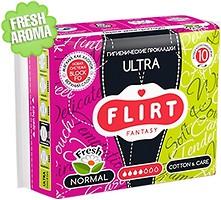 Фото Fantasy Flirt Ultra Fresh Normal Cotton And Care 10 шт
