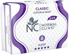 Фото Normal Clinic Classic Cotton & Velvet Super 6 шт