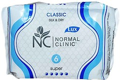 Фото Normal Clinic Silk & Dry Classic Super 6 шт