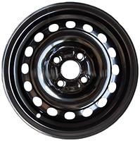 Фото Steel Wheels Mitsubishi \ Kia \ Hyundai (6.5x17/5x114.3 ET40 d67.1) Black