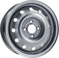 Фото Steel Wheels ВАЗ (5x14/4x98 ET35 d58.6) Silver