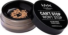 Фото NYX Professional Makeup Can't Stop Won't Stop Setting Powder Medium
