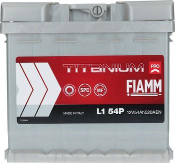 Fiamm Titanium Pro 54 Ah Euro (7905145, L1 54P, 554 150 052)