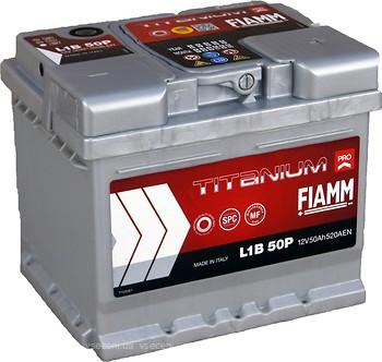 Fiamm Titanium Pro 50 Ah Euro (7905144, L1B 50P, 550 150 052)