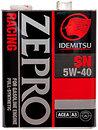 Фото Idemitsu Zepro Racing 5W-40 4 л