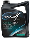 Фото Wolf Official Tech 5W-20 MS-FE 4 л