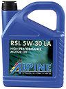 Фото Alpine RSL 5W-30 LA 5 л