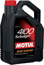 Фото Motul 4100 Turbolight 10W-40 4 л (387607)
