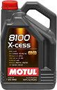 Фото Motul 8100 X-clean 5W-40 5 л (854151)