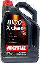 Фото Motul 8100 X-clean + 5W-30 5 л (854751)