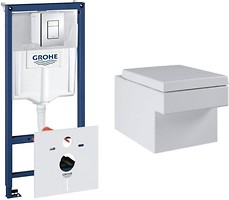 Фото Grohe Cube 3924400H + Grohe Rapid SL 38772001