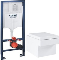 Фото Grohe Cube 3924400H + Grohe Rapid SL 38721001