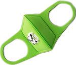 Фото Респиратор защитный многоразовый с клапаном Jellys (МД1) детский зеленый 1 шт