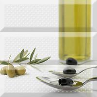Фото Absolut Keramika декор-панно Olives Fluor Composicion 30x30 (комплект 3 шт)
