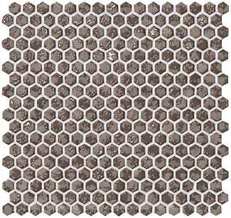 Фото Atlas Concorde мозаика Dwell Hexagon Greige 28.5x30