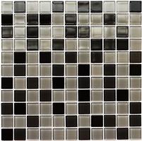 Фото Kotto Ceramica мозаика GM 4008 C3 Black/Gray M/Gray W 30x30