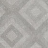 Фото Golden Tile декор Terragres Stonehenge Mod серый 60x60 (442540)