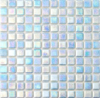 Фото AquaMo мозаика Присыпка Перламутр Sky Blue 31.7x31.7 (PWPL25502)