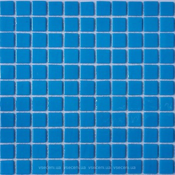 Фото AquaMo мозаика Monocolor Sky Blue 31.7x31.7 (MK25102)
