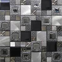 Фото Intermatex мозаика Frame Silver 30x30