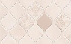 Фото Golden Tile плитка настенная Fragolino Arabesque розовая 20x45 (8N5151)