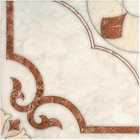 Фото Inter Cerama плитка напольная Castello красно-коричневая 43x43