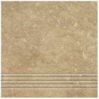 Фото Ceramika Gres ступень Alpino Cream 33x33