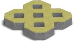 Фото Золотой Мандарин Парковочная решетка 80 мм