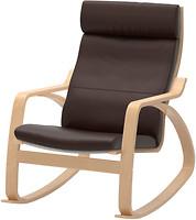 Фото IKEA Поэнг Робуст Глосе Кресло-качалка 498.610.07