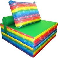 Фото Tia-sport Бескаркасное кресло-кровать 100x100x90