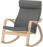 Фото IKEA Поэнг Lysed Кресло-качалка 092.867.05
