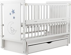 Фото Baby Room Медвежонок 60x120 (маятник, ящик)