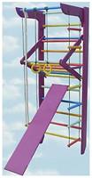 Фото Kindersport Спортивный уголок Жасмин полный 240 см (2078)