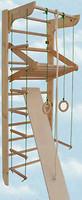 Фото Kindersport Спортивный уголок Геркулес полный сосна 220 см (2031)