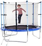 Фото Hop-Sport 244 см с внутренней защитной сеткой