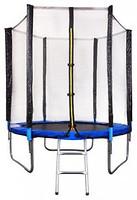 Фото Atleto Батут 183 см с защитной сеткой, лестницей (104401)