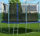 Фото Hop-Sport 366 см с внутренней защитной сеткой