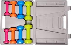 Фото PowerPlay Набор гантелей в кейсе 10 кг (4120)